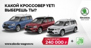 Black Friday до конца 2017 в SKODA Wagner!